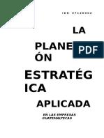 28415767 Planeacion Estrategica Empresas Guatemaltecas