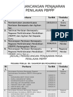 JADUAL PERANCANGAN  PENJAJARAN MASA PENILAIAN PBPPP.pptx