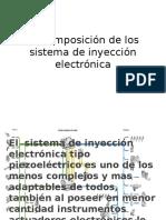 La Composición de Los Sistema de Inyección Electrónicahgh1