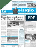 Edicion Impresa Elsiglo Miercoles 24-02-2016
