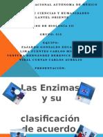 clasificaciondeenzimas-120416182950-phpapp02