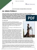 Página12 Radar Al Gran Pueblo