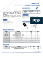 QM07N60F (20110429) Posible Reemplazo Del Mosfet Para Tv Haier Led 32 Pulgadas Led Mosfet Original M0014D