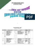 Form 5 Scheme of Work- FINAL