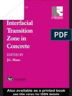 Interfacial Transition Zone in Concrete