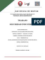 Trabajo Seguridad Industrial_Riesgos Electricos