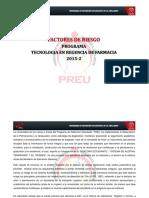 Factores de Riesgo Tecnologia en Regencia de Farmacia (Biologia Basica) 2015-2 (1)