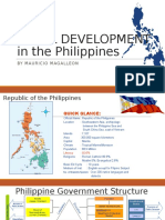 Rural Development in the Philippines