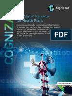 The Digital Mandate for Health Plans