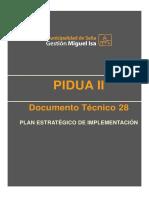 DT 28 Plan Estratégico de Implementación