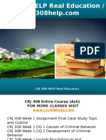 CRJ 308 HELP Real Education - Crj308help.com