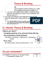 4 1 - atomic theory   bonding