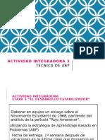 p p. Actividad Integradora 3