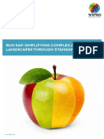 Wipro Run SAP Simplifying Complex Application Landscapes White Paper 0312