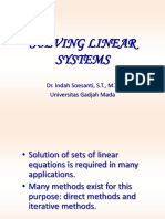 3 - Solving Linear Systemf