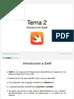 Tema 2 - Introducción a Swift