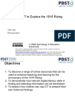 using ict to explore the 1916 rising  1