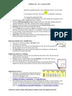 Collision Lab Guide