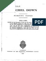 Crichel Down by-laws 1940