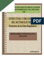 8.Estructura y Organización Del Sector Electrico. Regimen Jurídico e Institucional de La Reg