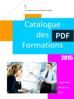 Catalogue Formations GALIA 2015