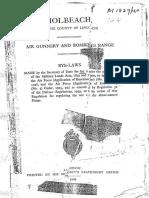 Holbeach Air Gunnery Bombing Range