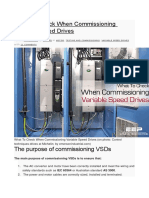 Commissioning Variable Speed Drives