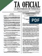 Sumario Gaceta Oficial 39.404