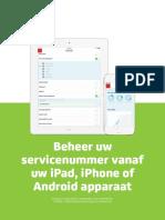 Belfabriek E-boek Beheer Uw Servicenummer Vanaf Ios en Android