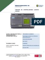 Metodología Para La Realización de Automatismo Con PLC