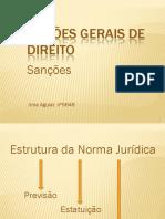 Nocoes Gerais de Direito Sancoes