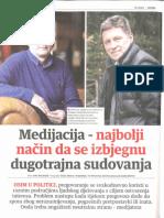Interview Nacional - Medijacija