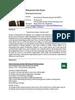 CV of Nasim