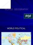 World Geography-session 2