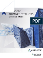 Advance Steel 2015 - Essentials Metric - Training Guide