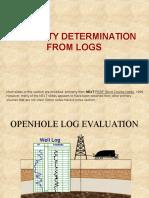 Techo Well Logging PorFromLog