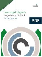 2016 Regulatory Outlook for Advisors