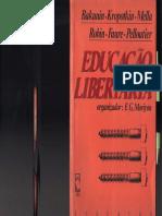 Educação Libertaria (org. F. G. Moriyón)