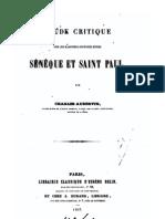 Correspondance de Paul et Seneque