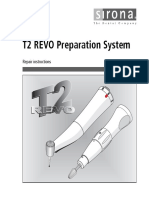 T2 Revo Preparation Repair Instruction