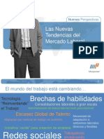 Tendencias Del Mercado Laboral