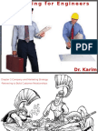 Marketing for Engineers Ch 2