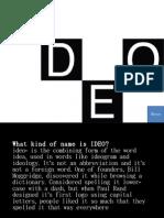 Presentation Abt Ideo Inc