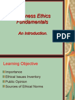 Business Ethics Fundamental