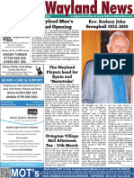 The Wayland News March 2016