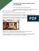 Excelente negocio centrado en los salones modernos por la zona de la provincia de Valladolid
