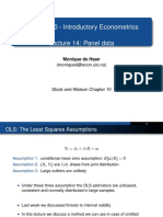 Lecture14 Panel Data