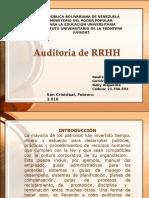 Auditoria de Rrhh