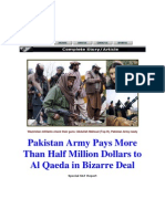 Pak Army paid millions to Taleban Mehsud