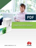 Huawei AntiDDoS Solution Datasheet En